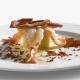 Cofanetto di patata con mazzancolle e briciole di prosciutto di Sauris IGP