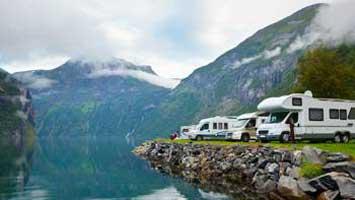 Camper: è aperto il camping in velt